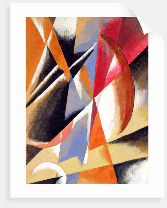 Composition by Lyubov Sergeevna Popova