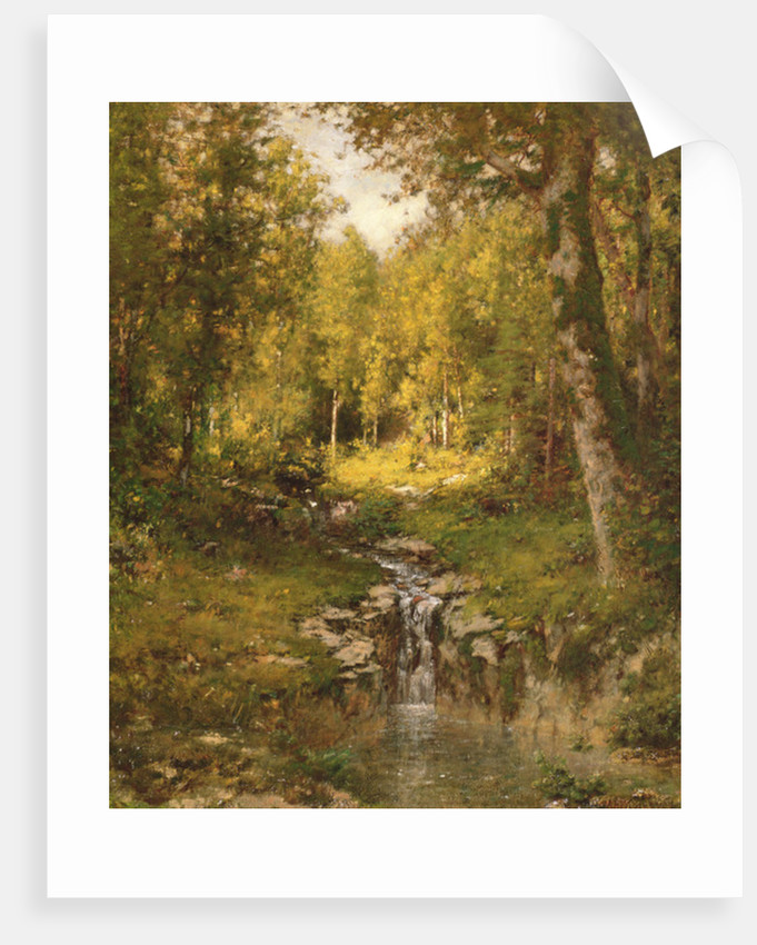 Pool in the Woods by Alexander Helwig Wyant