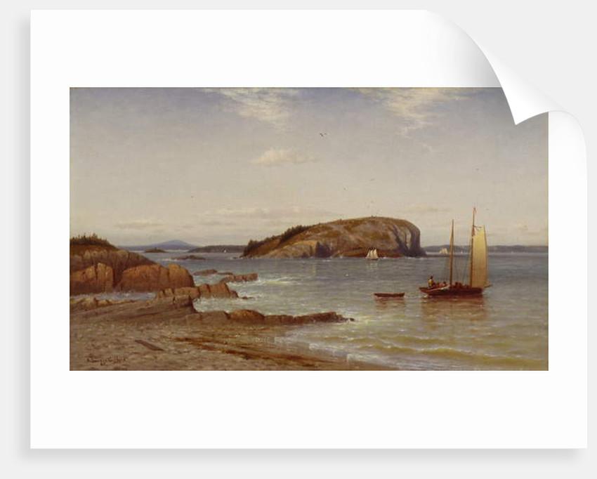 Bald Porcupine Island, 1868 by Robert Swain Gifford