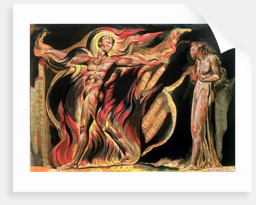 Jerusalem The Emanation of The Giant Albion; Such visions have appeared to me by William Blake