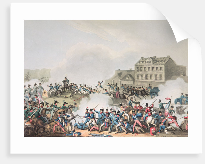 Battle of Leipsic by William Heath