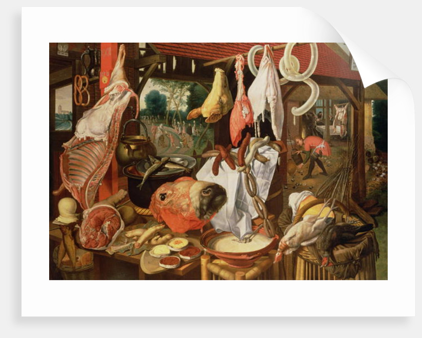 The Meat Stall by Pieter Aertsen