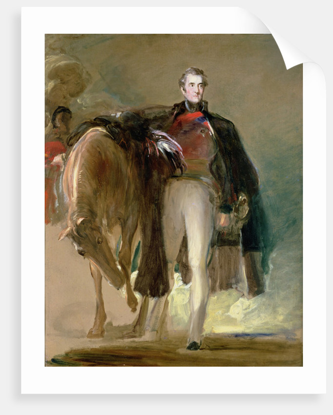 The Duke of Wellington and his Charger Copenhagen by David Wilkie
