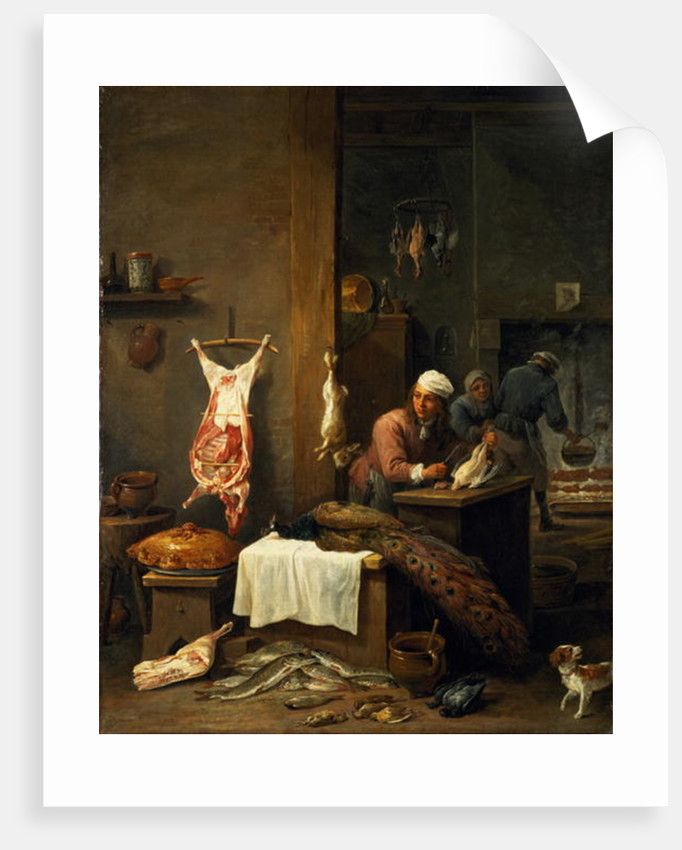 In the Kitchen by David the Younger Teniers