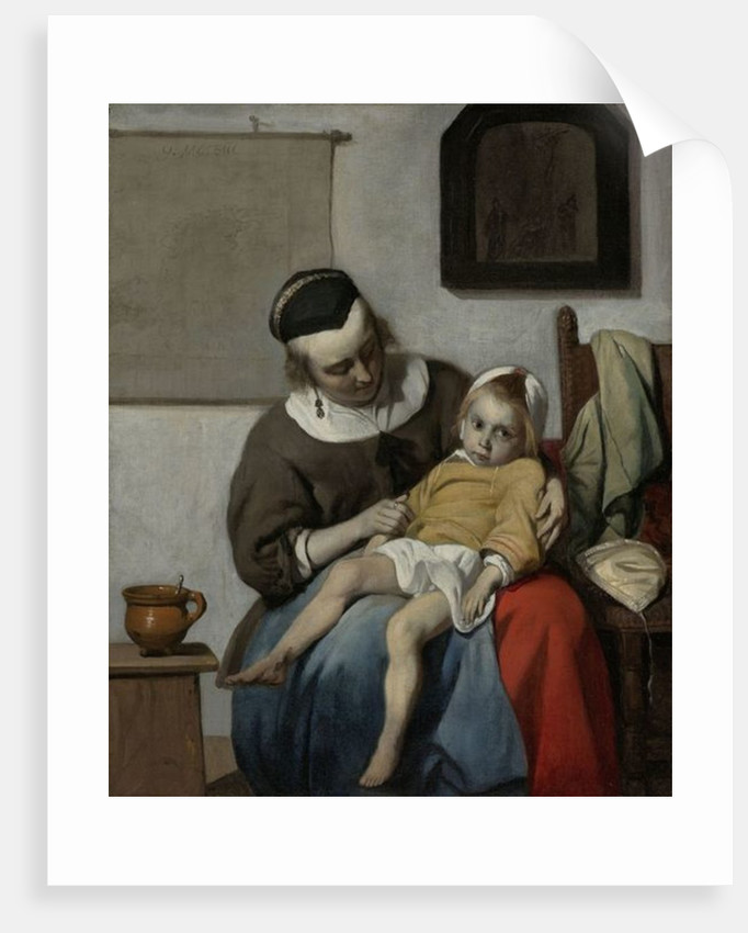 The Sick Child by Gabriel Metsu