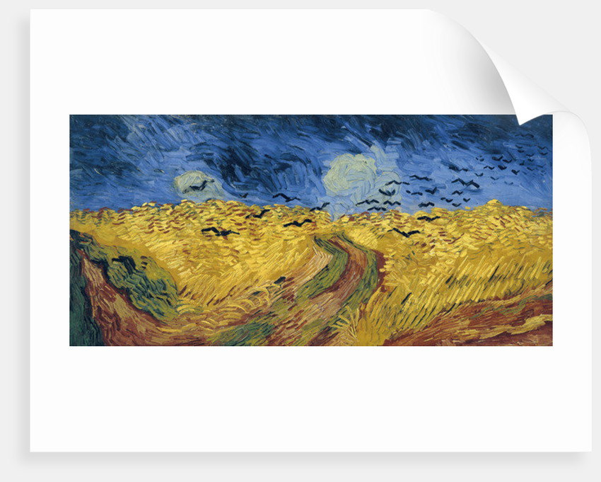 Wheatfield with Crows by Vincent van Gogh