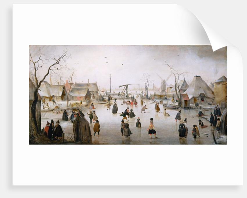 Ice Sports by Hendrik Avercamp