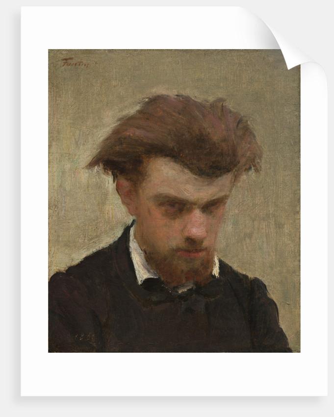 Self-Portrait by Ignace Henri Jean Fantin-Latour