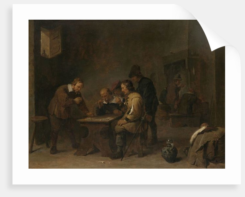 The Gamblers by David the Younger Teniers
