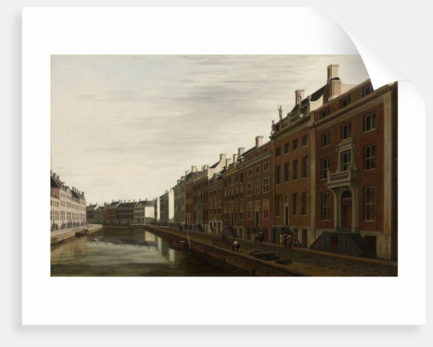 The 'Golden Bend' in the Herengracht, Amsterdam as seen from the West by Gerrit Adriaensz Berckheyde