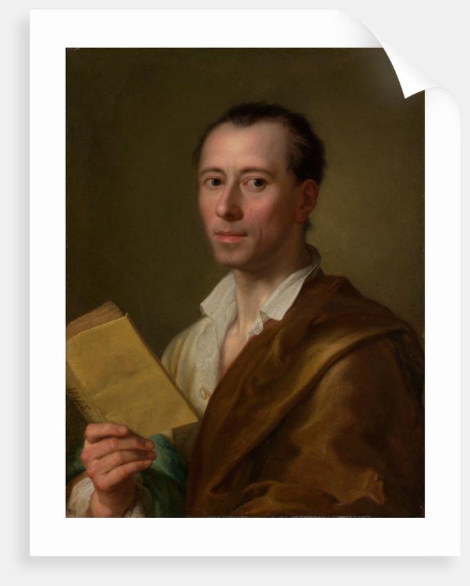Johann Joachim Winckelmann by Anton Raphael Mengs