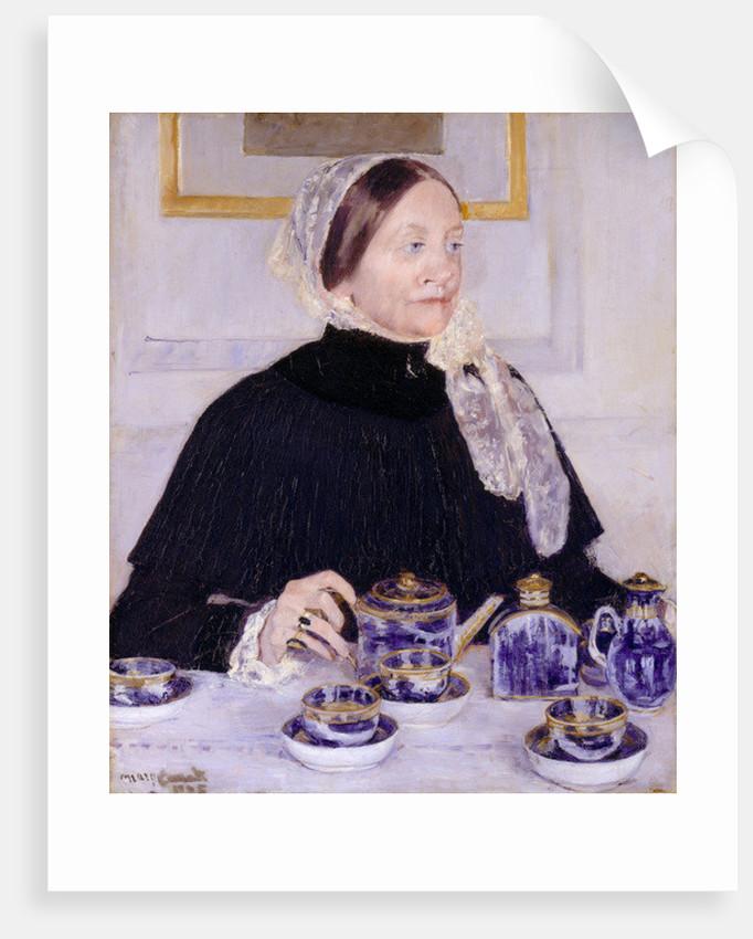 Lady at the Tea Table by Mary Stevenson Cassatt