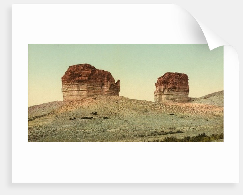 Utah. The giant club and kettle, Green River by Anonymous