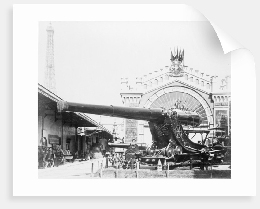 Cannons at the Paris Exposition by Anonymous