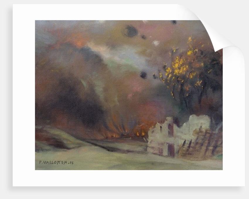War by Felix Edouard Vallotton
