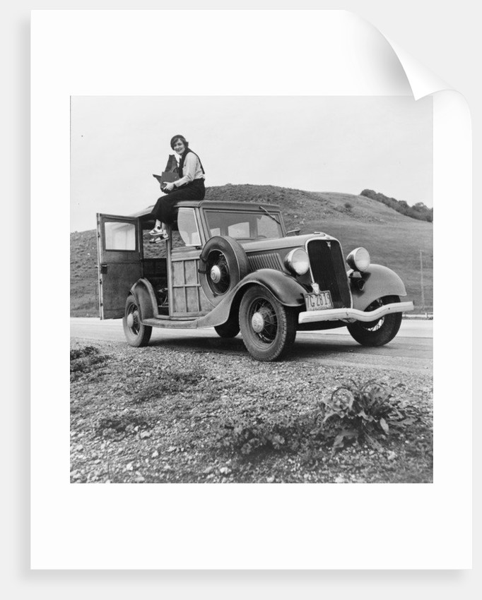 Dorothea Lange, Resettlement Administration photographer by American Photographer