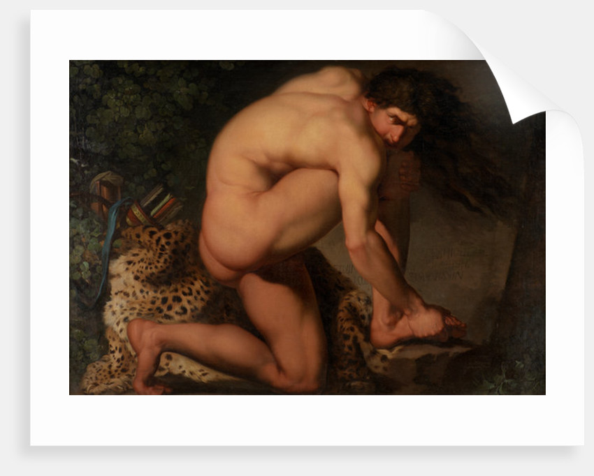 The Wounded Philoctetes by Nicolai Abraham Abildgaard