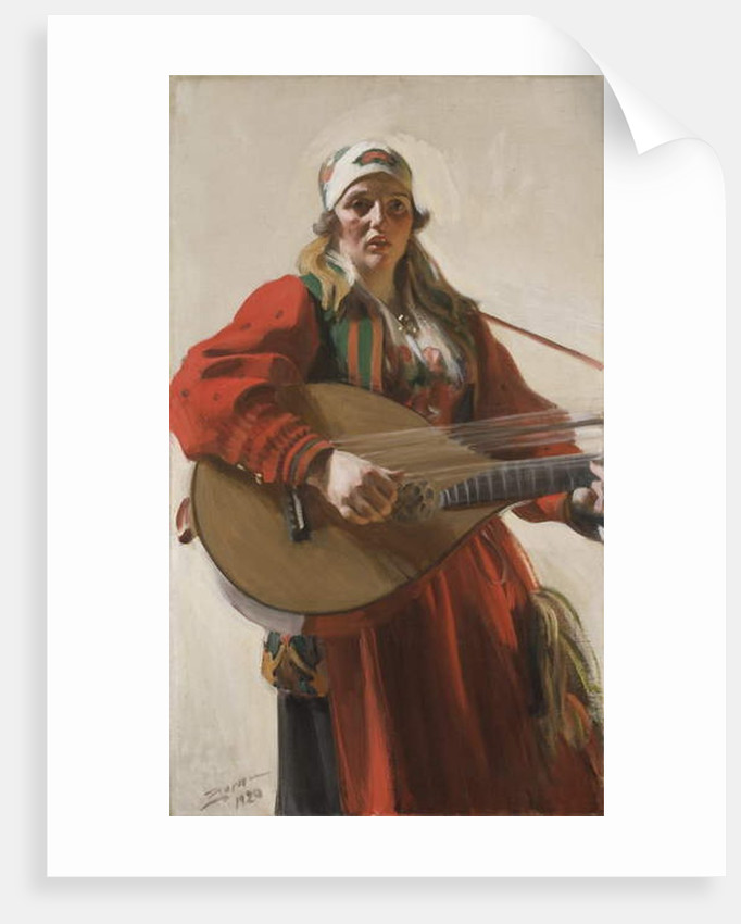 Home Tunes, 1920 by Anders Leonard Zorn