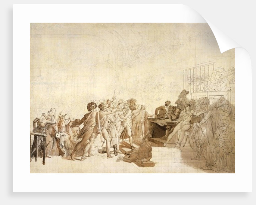 The 10th of August 1792 by Francois Pascal Simon
