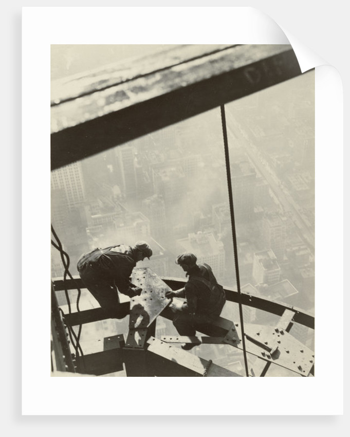 Empire State Building, New York by Lewis Wickes Hine