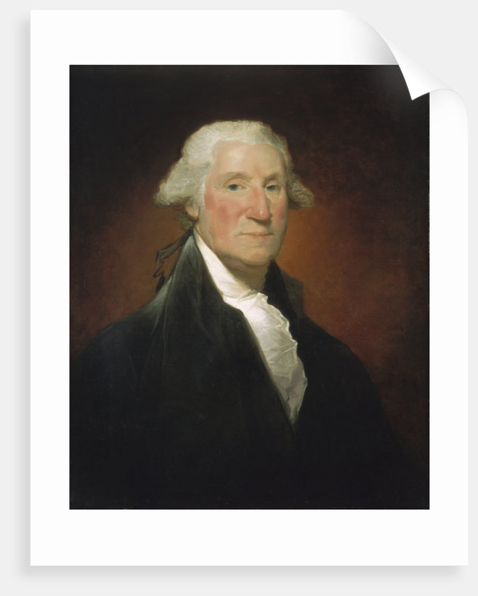 George Washington (Vaughan portrait) by Gilbert Stuart