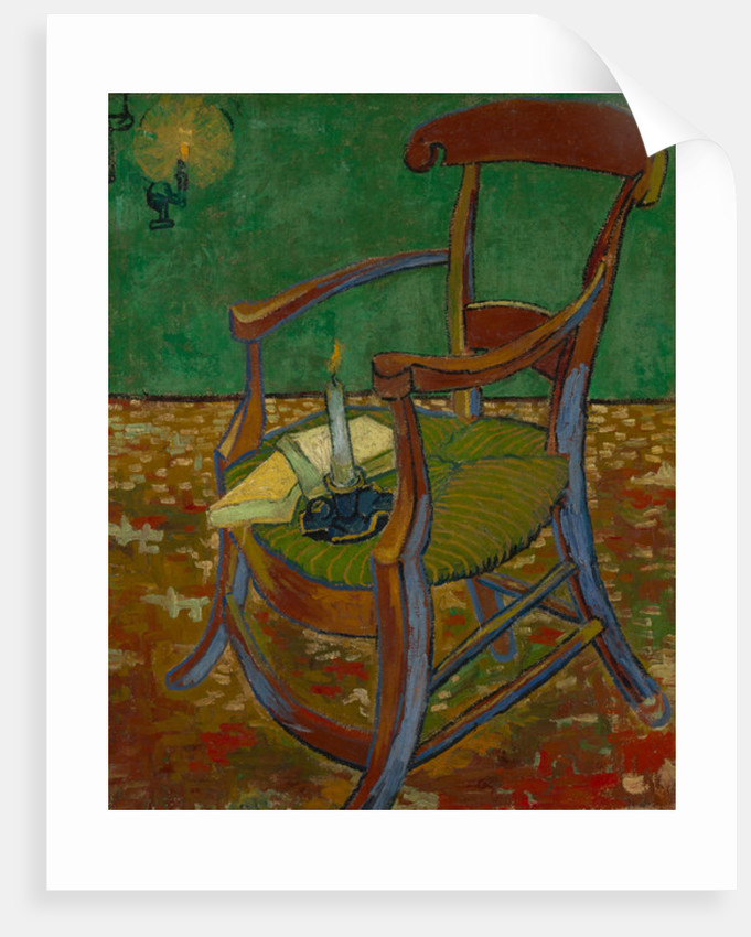 Gauguin's Chair by Vincent van Gogh