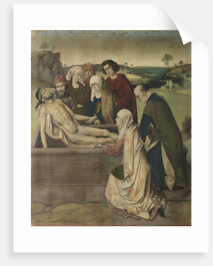 Entombment by Dirck Bouts