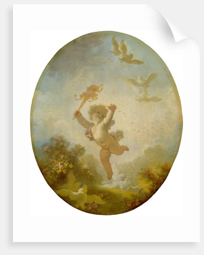 Love as Folly by Jean-Honore Fragonard