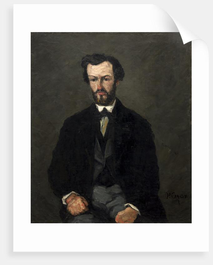 Antony Valabrègue by Paul Cezanne