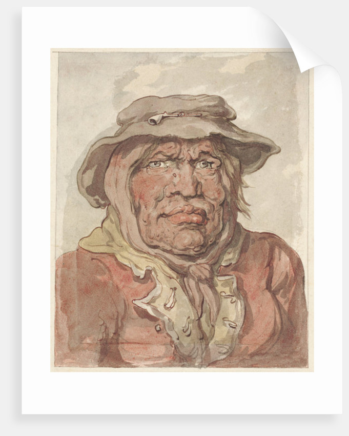 A Soldier's Widow by Thomas Rowlandson
