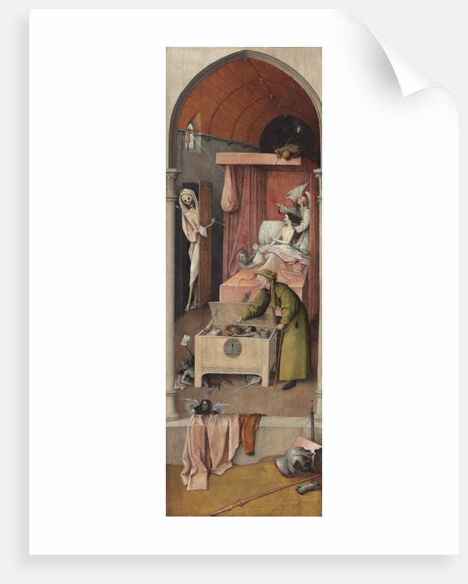 Death and Miser by Hieronymus Bosch