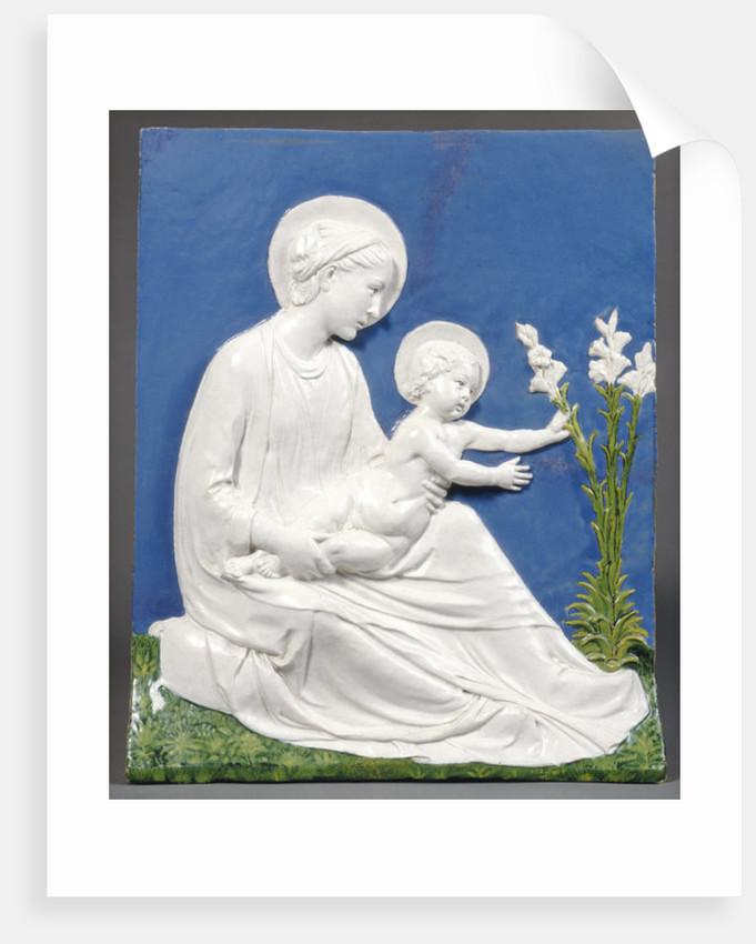 Madonna & Child by Luca Della Robbia