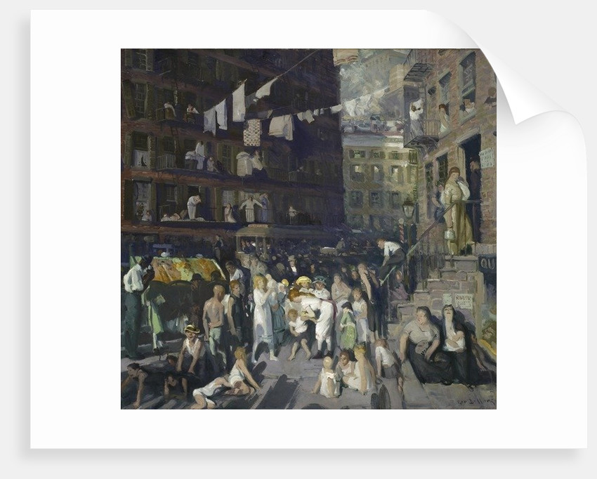 Cliff Dwellers by George Wesley Bellows