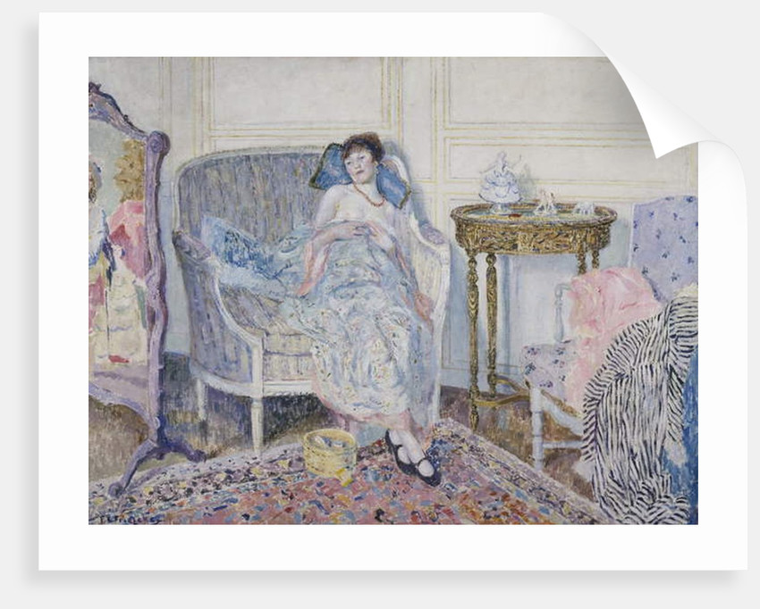 In the Boudoir, c.1914 by Frederick Carl Frieseke