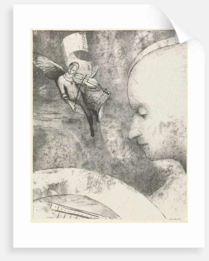 Heavenly Art by Odilon Redon