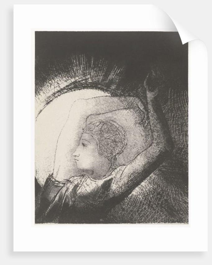 A Woman clothed by the Sun by Odilon Redon