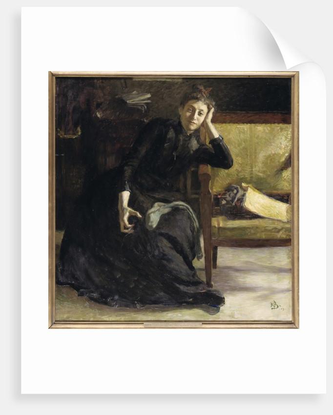 37e81532d0b Portrait of the Swedish painter Eva Bonnier posters   prints by Sven ...