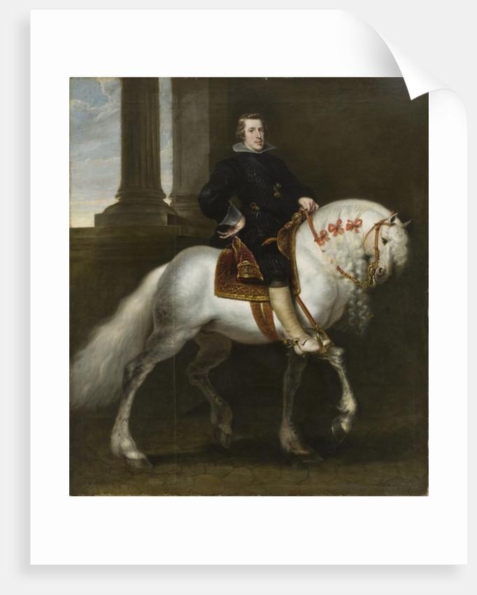 Philip IV of Spain by Flemish School