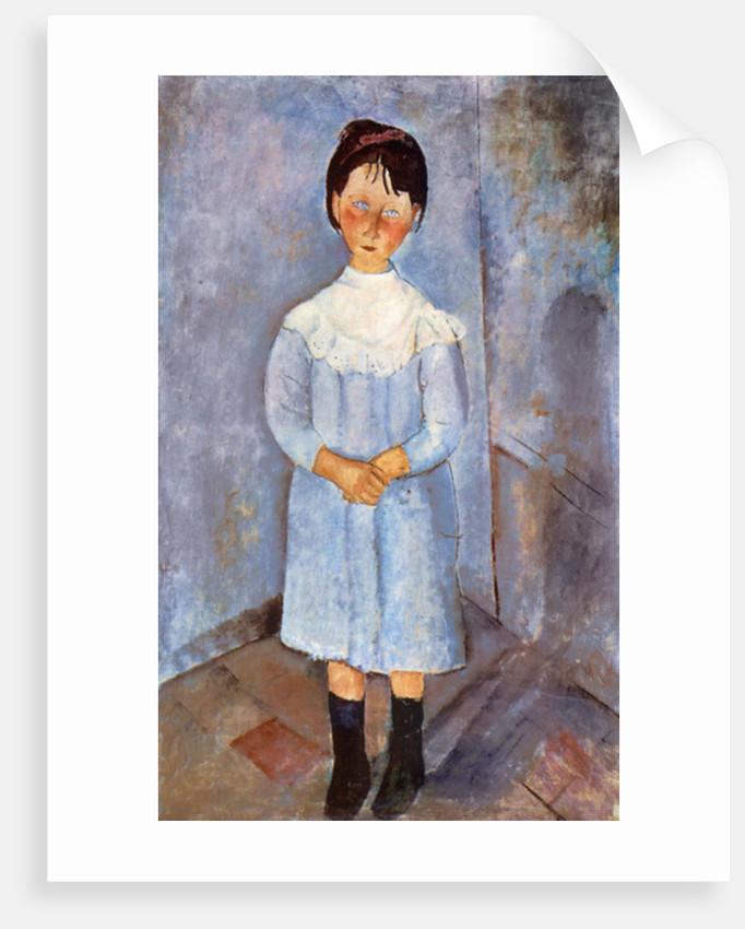Girl in Blue by Amedeo Modigliani