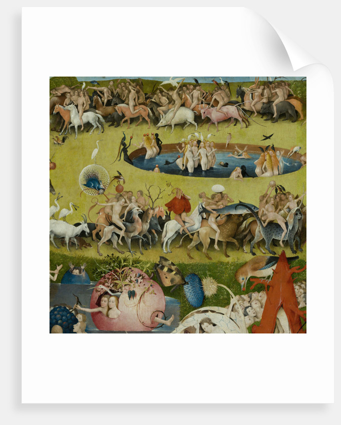 The Garden Of Earthly Delights 1490 1500 Posters Prints By Hieronymus Bosch