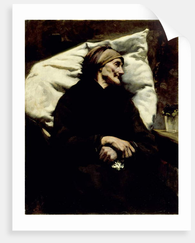 The Grandmother, 1889 by Walter Gilman Page