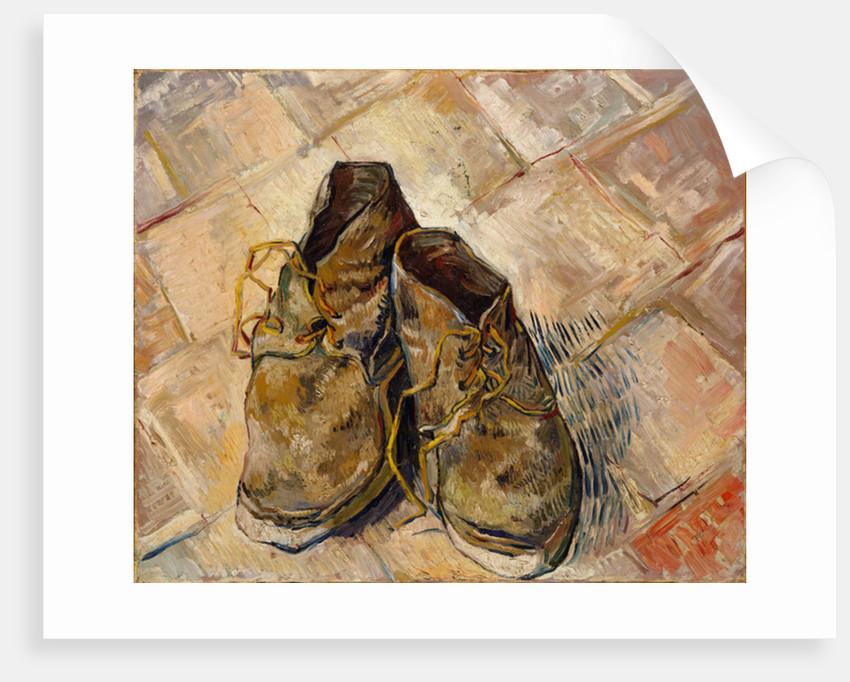 Shoes, 1888 by Vincent van Gogh