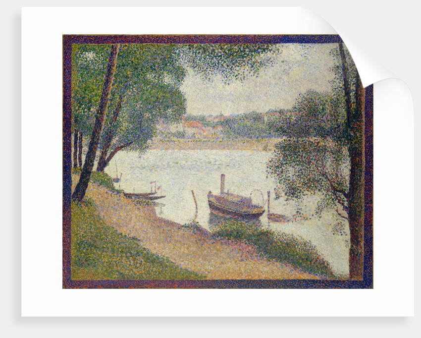 Gray Weather, Grande Jatte, c.1886-88 by Georges Pierre Seurat