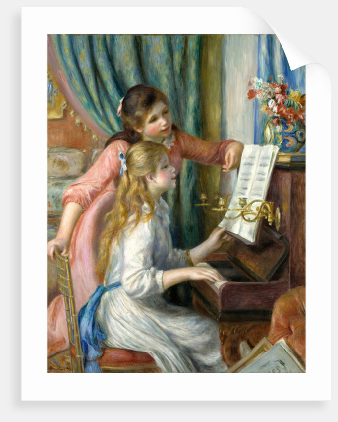 Two Young Girls at the Piano, 1892 by Pierre Auguste Renoir