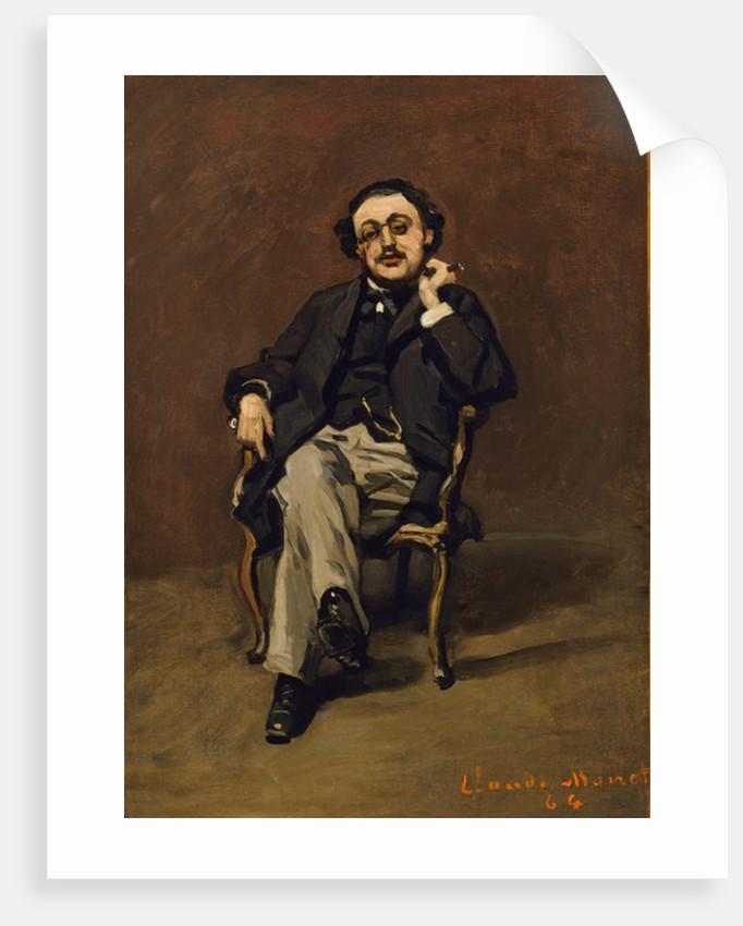 Dr. Leclenché, 1864 by Claude Monet