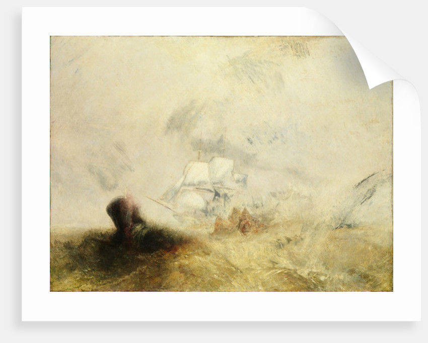 Whalers, c.1845 by Joseph Mallord William Turner