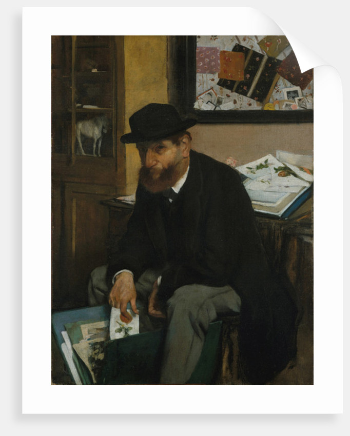 The Collector of Prints, 1866 by Edgar Degas