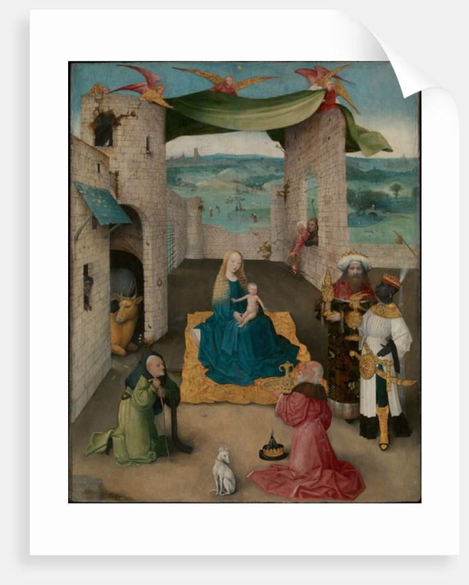 The Adoration of the Magi, c.1475 by Hieronymus Bosch