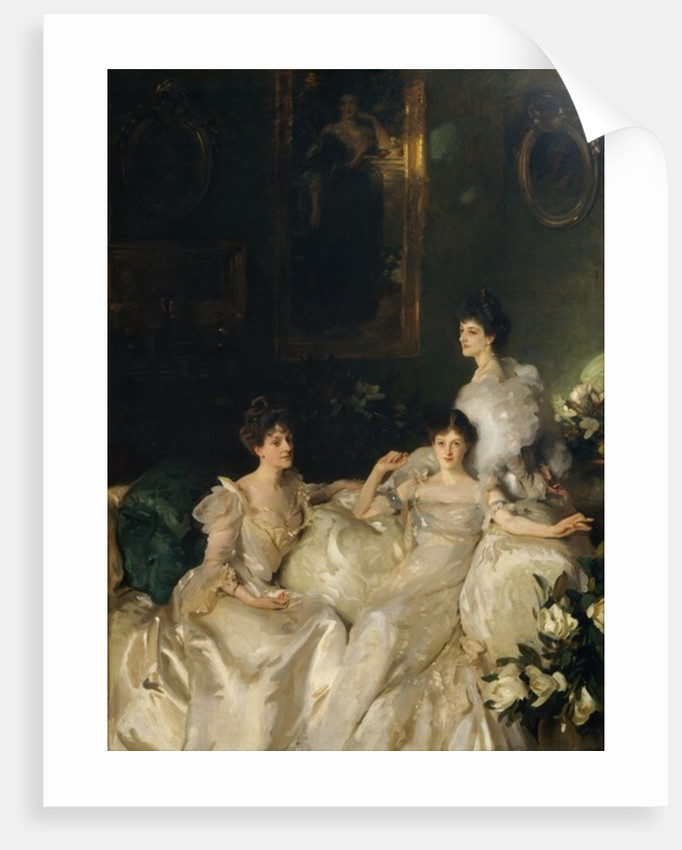 The Wyndham Sisters: Lady Elcho, Mrs. Adeane, and Mrs. Tennant, 1899 by John Singer Sargent