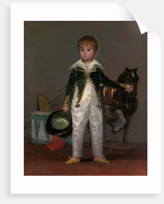 José Costa y Bonells, Called Pepito, c.1810 by Francisco Jose de Goya y Lucientes